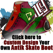 Click here to Custom Design your Own Antik Skate Boot